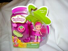 2010 Strawberry Shortcake Raspberry Torte Mini Doll w Hair Extension MIP Sealed