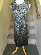 Lanvin Diamond Print Dress Sz.38