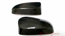 REAL GLOSSY CARBON FIBER SIDE MIRROR COVER FOR 13+ TOYOTA YARIS XP130 XP150 TRD