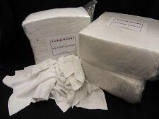 30 x 8kg bianco spugna pulizia Stracci/TERGICRISTALLI Press imballato Bag