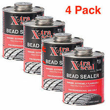 XTRA SEAL (4 PACK)  TIRE BEAD SEALER 32 OZ BLACK W/BRUSH TOP 14-101  FREE SHIP