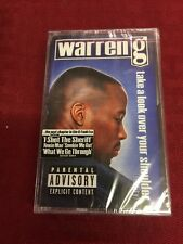 Warren G:  Take a Look Over Your Shoulder (Cassette, 1997, Def Jam) NEW