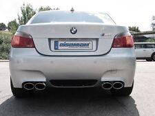 REUTER BMW E60 M5 Edelstahl Sport Auspuff m.Soundwunsch