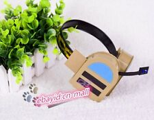 VOCALOID Family LUKA Golden Cosplay Prop Headphone Headset Hair Accessories