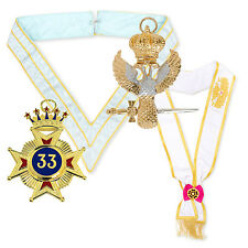 BARGAIN Rose Croix 33rd Degree Pack Collarette, sash, Star Eagle masons regalia