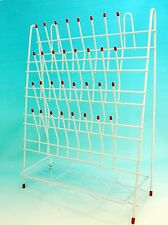 Laboratory Drying / Draining Rack 48 Pegs with Drain Pan New