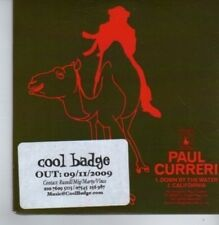 (BP508) Paul Curreri, Down By The Water - DJ CD