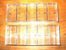 8 - Poker Chip Casino Chip Trays - Racks - New - Holds 100 Chips Each
