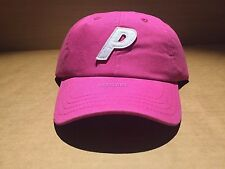 PALACE SKATEBOARDS P 6-PANEL HOT PINK TRI FERG HAT CAP
