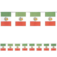 Mexican Flags Paper Banner Mexican Fiesta Party Decoration Cinco De Mayo Spanish