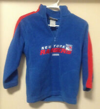 CCM New York Rangers Youth Jacket Stitched Small Size 8 Fleece