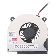 New Laptop Plastic & Metal CPU Air Cooling Fan for DELL Latitude E6400 Black