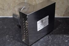 "gas wall vent outlet termination box 5"" 125mm  type bh extractor outlet"