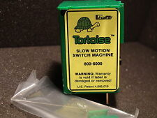 TORTOISE (1) CIRCUITRON #800-6000 SWITCH MACHINES NEW BIGDISCOUNTTRAINS