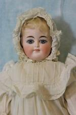 "Antique 14"" German Bisque Two-Faced Doll by Fritz Bartenstein c.1892 Mama Crier"