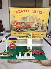 matchbox gift set G-9B-1.Rare Version near mint OVP good condition from 1964/65