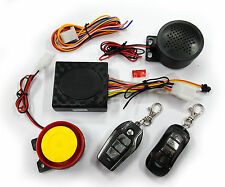 Talking Anti-theft Security Alarm 2 Remote (E) For Suzuki Gixxer