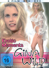 3 FILME DVD / EROTIC MOMENTS - GINA WILD ; NEU & OVP