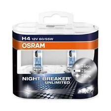 H4 OSRAM NIGHT BREAKER UNLIMITED Globe Bulbs (Twin Pack) 64193NBU