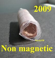 2009 MINT SEALED 1 roll of Canadian pennies NON MAGNETIC - RARE!