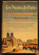Restif de la Bretonne.  Les Nuits de Paris.  First Edition.