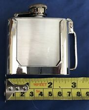 Hip Flask 3oz Belt Buckle Metal Brand New Unworn Unused