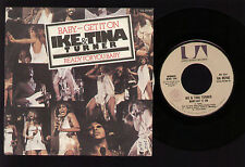 "7"" IKE & TINA TURNER BABY GET IT ON / READY FOR YOU BABY 1975 ITALY SOUL FUNK"