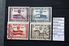 FRANCOBOLLI AUSTRIA USATI N. 845/848 (A54640)