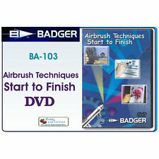 BADGER Airbrushes DVD Air Brush Techniques Start to Finish BA103