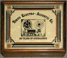 """TEAC TOKYO ELECTRONIC ACOUSTIC CO """"25 YEARS OF EXCELLENCE"""" TAPE MAINTENANCE BOX"""