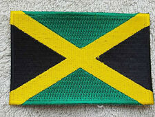 JAMAICA FLAG PATCH Embroidered Badge Iron or Sew on 6cm x 9cm West Indies NEW