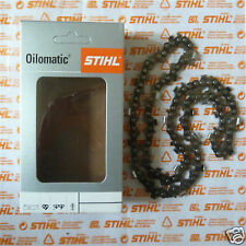 """14"""" 35cm Makita Genuine Stihl RMS 1/4"""" Chainsaw Carving Chain 76 D L Tracked"""