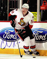 COLIN GREENING signed OTTAWA SENATORS 8X10 photo w/ COA