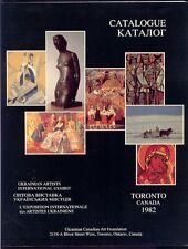 Hordynsky, Sviatoslav [editor]: Catalogue: Ukrainian Artists International Exhib