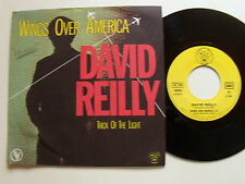 """DAVID REILLY: Wings over America / Trick of light  - 7"""" 1982 French VOGUE 101626"""