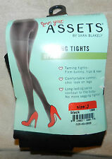 Spanx Love Your Assets~Shaping Tights~Textured Over Knee~Size 2~Heathrd Steel