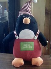 LifeWay Christian~Jesus Loves Me~Stuffed Penguin
