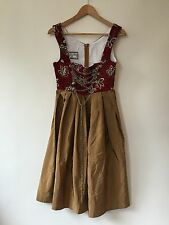 Oscar Trachten Oktoberfest Renaissance Costume Dress Lace Up Bodice 36