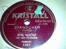 EMIL ROOSZ STANDCHEN & SERENATE KRISTALL  1267
