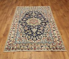 Persian Traditional Vintage Wool 205cmX 112cm Oriental Rug Handmade Carpet Rugs