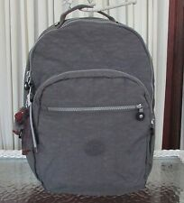 Kipling Seoul Large Backpack Laptop Protection Dusty Grey BP3020 NWT