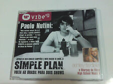 CD BRAZIL VIBE 9 PROMO Paolo Nutini Ashley Tisdale Simple Plan Madonna Red Hot