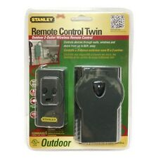 STANLEY - Outdoor Remote Control Twin Grounded Outlet