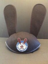 Disney Oswald Rabbit Epic Mickey Mouse 2 Ears Hat Cap Adult Size Bunny Lucky