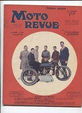 Moto Revue N°400  ; 8  novembre 1930  : croquis au salon de la moto