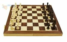 Standard High Quality Chess Set Wooden Folding