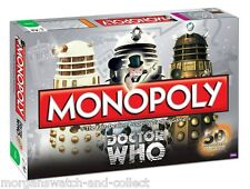 Hasbro DOCTOR WHO MONOPOLY 50th Anniversary *SEALED* Collector's Edition *SALE*