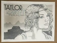 Taylor Swift Limited Edition Poster Art Print 24/100 Artist Clint Wilson