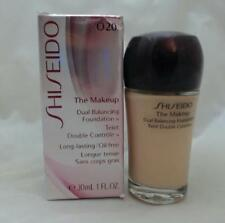 Shiseido The Makeup Dual Balancing Foundation-020 Natural Light Ochre-New in Box