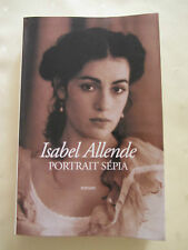 Isabel Allende -  portrait sepia - 391 pages, 2001, livre grand format